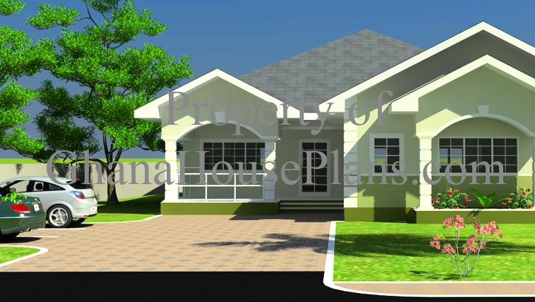 4 bedroom single storey family ghana house plan huge master bedroom rh ghanahouseplans com