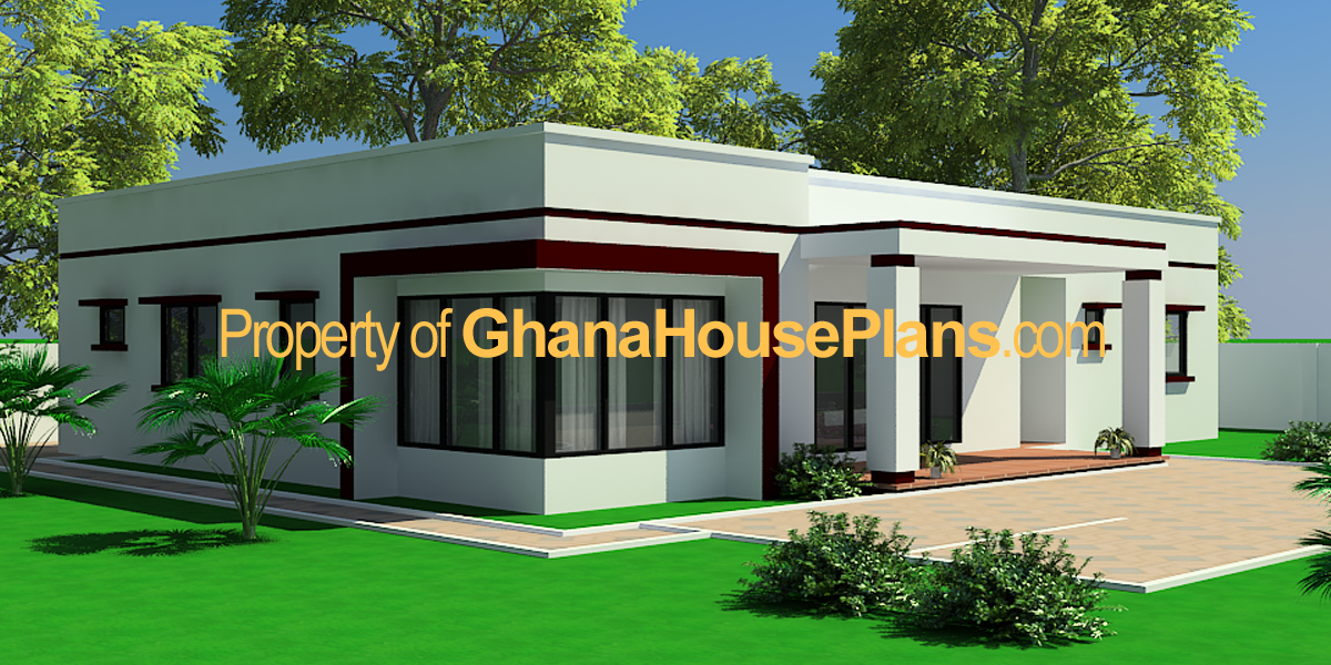 Pin Images Of Ghana Homes Adzo House Plan Plans Designs