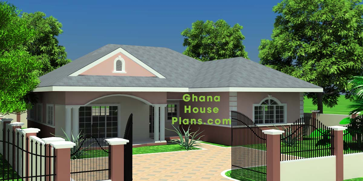Ghana house plans abbey house plan for Home designs ghana
