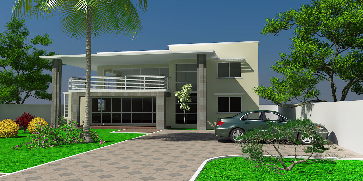 Ghana house plans adzo house plan for 2 level house design