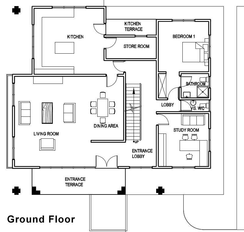 Excellent Ghana House Plans Adzo House Plan Largest Home Design Picture Inspirations Pitcheantrous