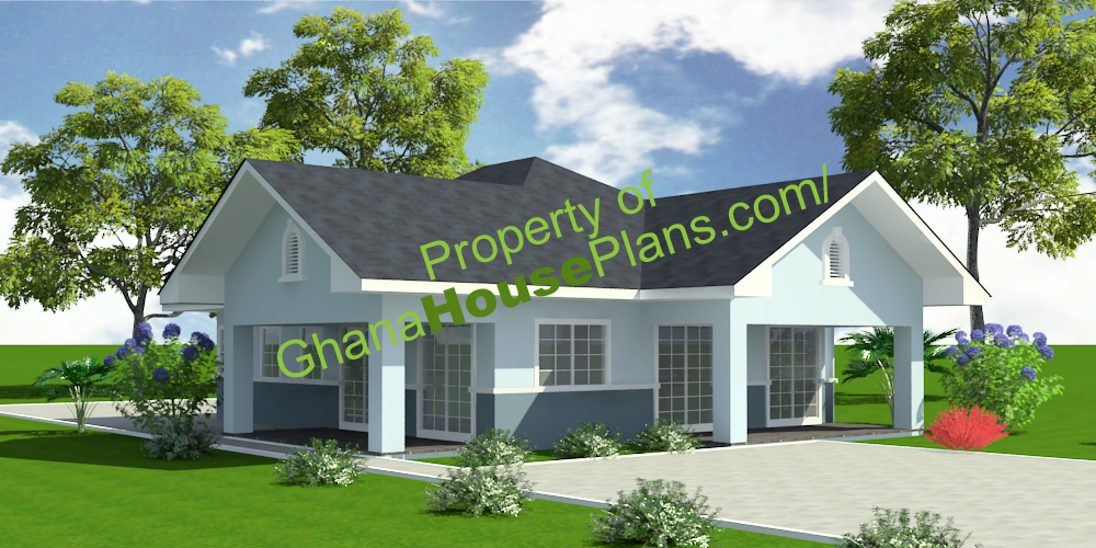 Ghana House Plans Lartey House Plan