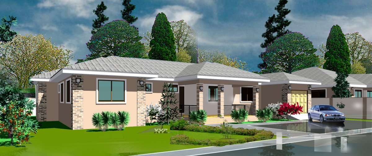 Ghana house plans odenihu house plan for Ghana house plan