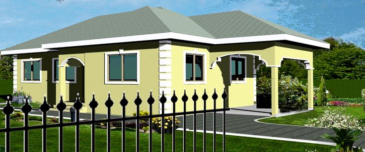 Ghana House Plans Papafio House Plan