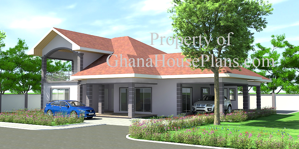Ghana house plans ransford house plan big for Home designs ghana