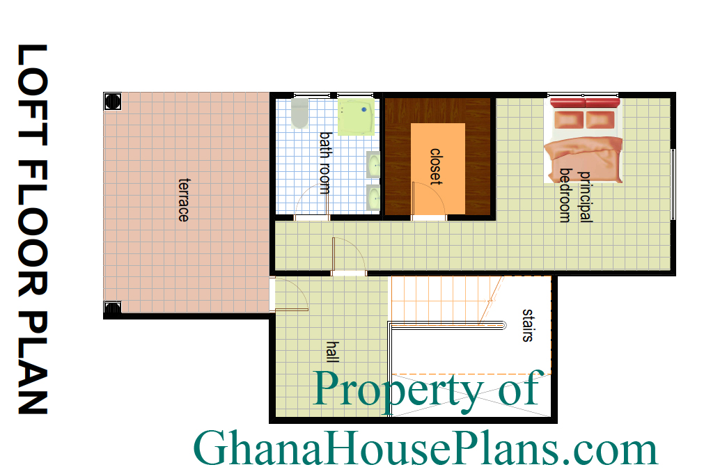 First floor layout house