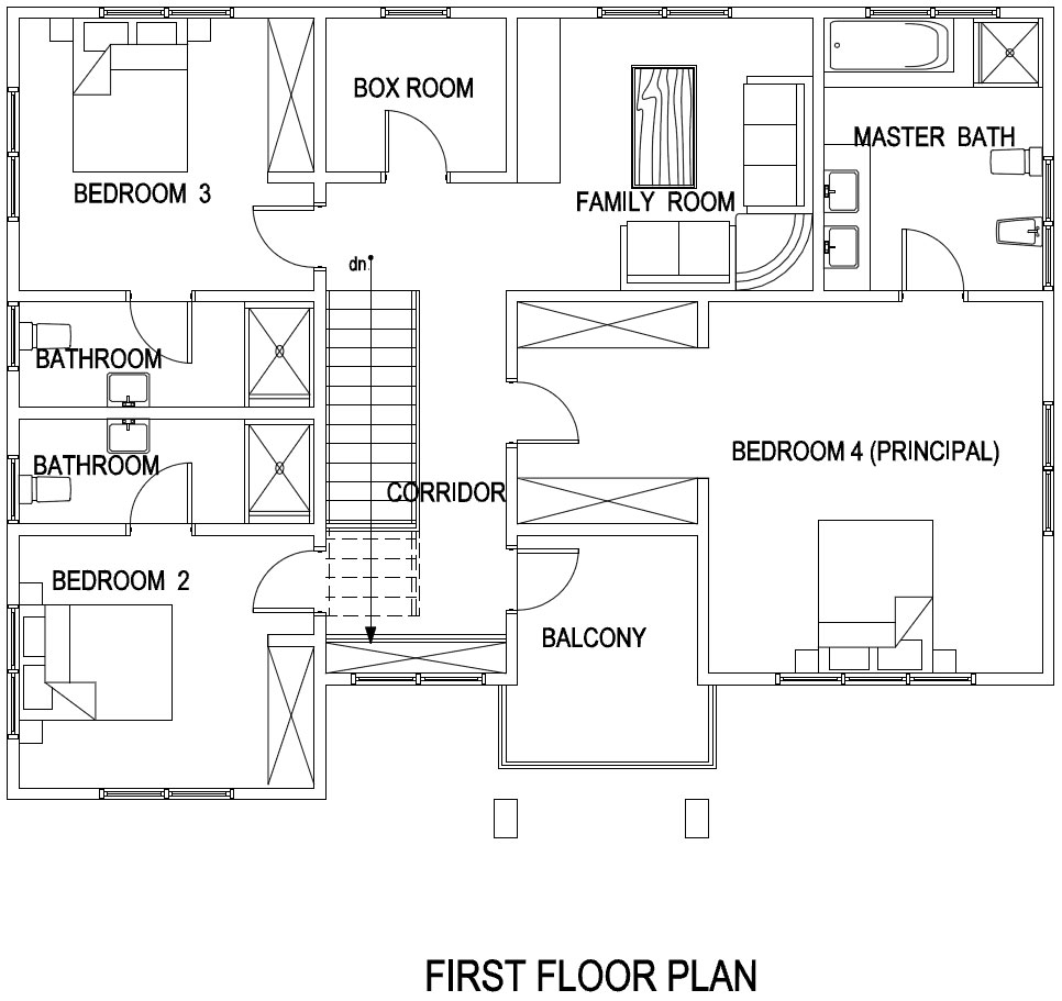 Scale Floor Plan For Duplex as well Adzo House Plan also Ashon House Plan additionally Bedroom Home Plan And Elevation Kerala House Design in addition  on 4 bedroom 1 level house plans