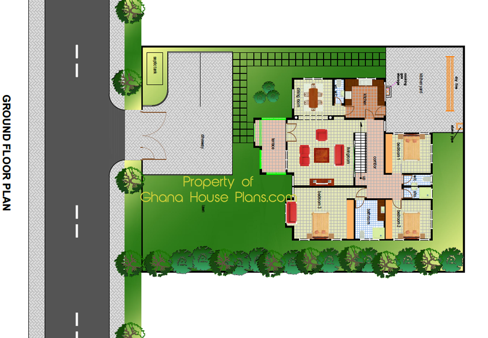 Ghana house plans kingsley house plan for House plan house plan