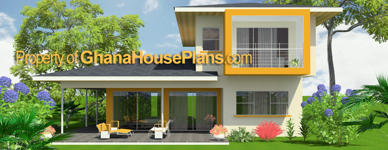 Ghana house plans dadzie ghana house plan for Home designs ghana