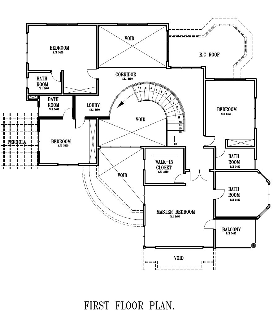 Ghana House Plans Kokroko House Plan