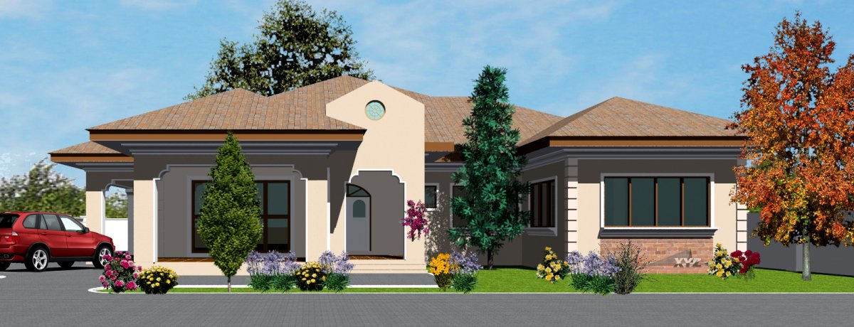 Ghana house plans asafoatse house plan for Home designs ghana