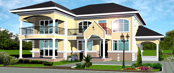 Ghana home plans house design plans for House plans in ghana