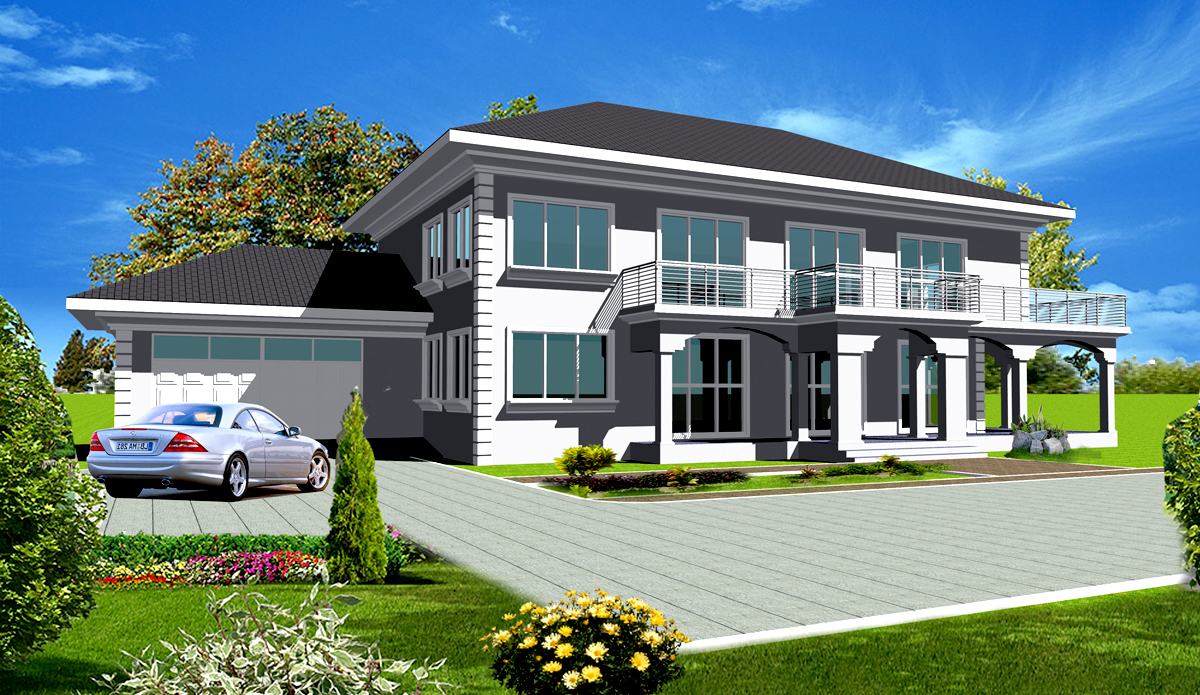 Ghana house plans nhyira house plan House plans for mansions