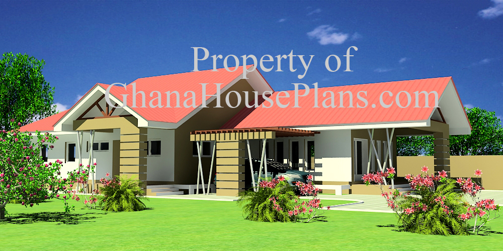 Ghana house plans house for sale in ghana obrapa plan for Home designs ghana