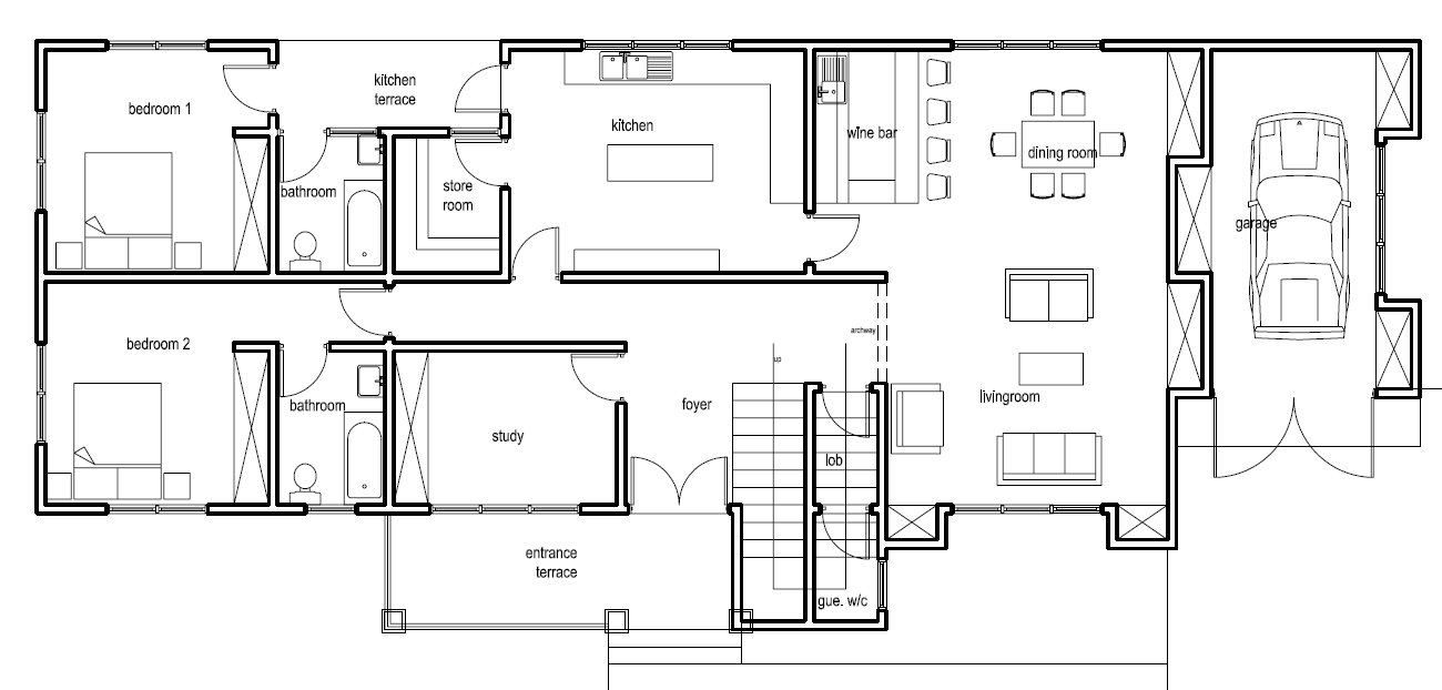 Ghana house plans nanaheema ground floor plan Ground floor house plans