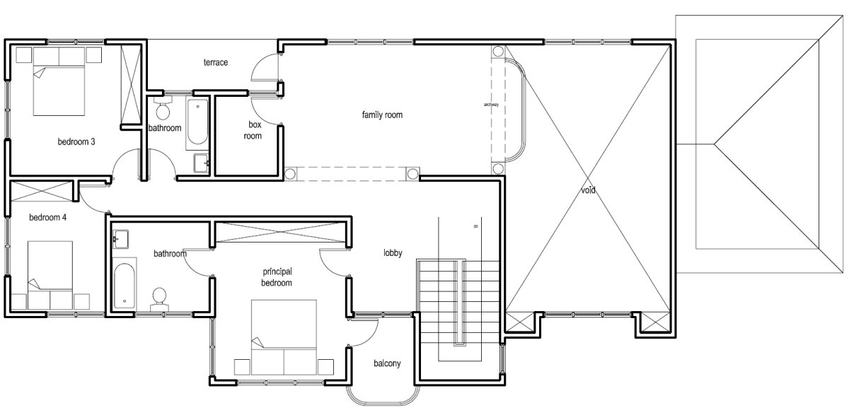 Ghana house plans nana hemaa house plan for Ground floor house design