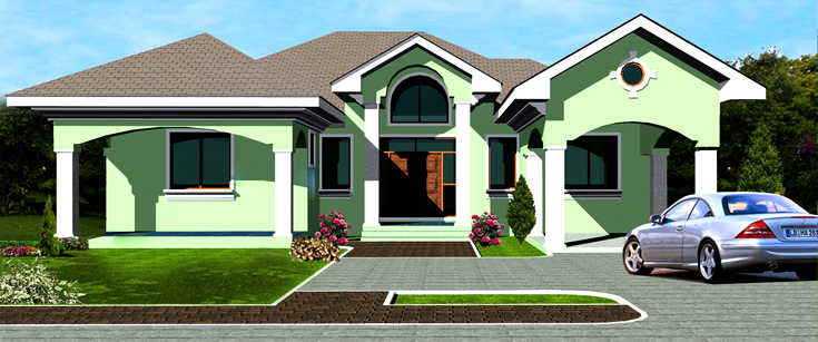 Ghana house plans ohene house plan for Looking for house plans