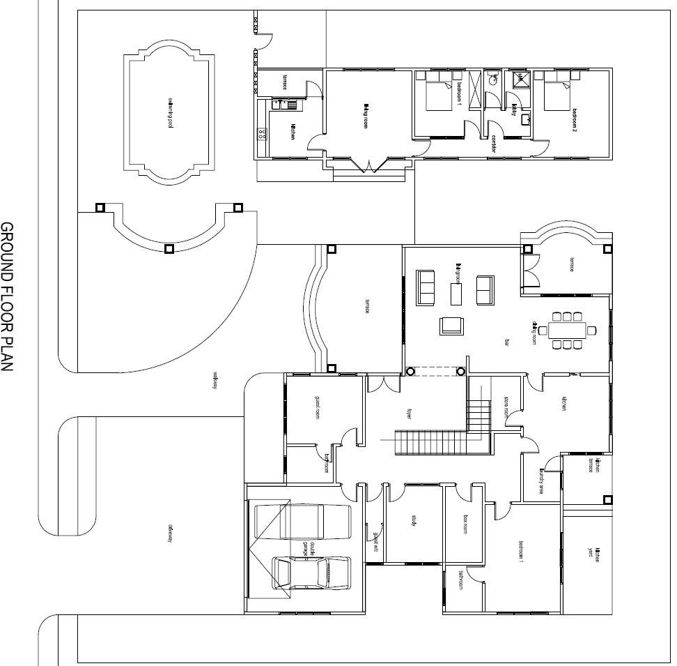 28 Ghana House Plans Chaley House Chalet Building