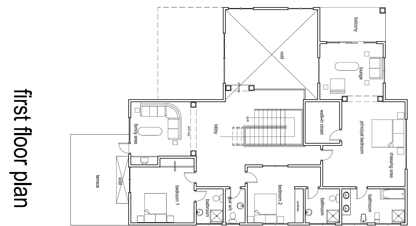 Ghana house floor plans for Building plans in ghana