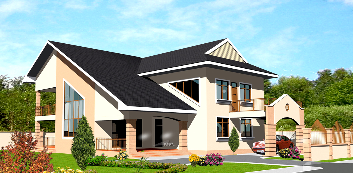 Ghana House Plans Tordia House Plan