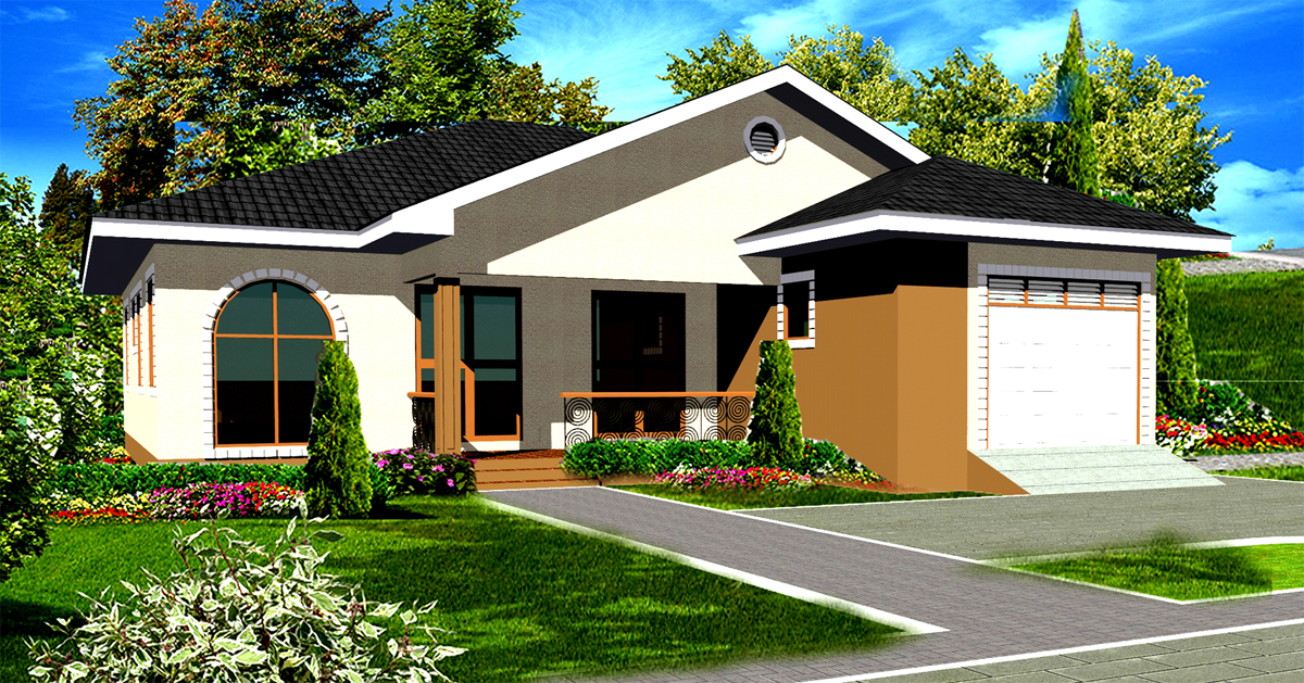 Ghana house plans house design ideas for Home designs ghana