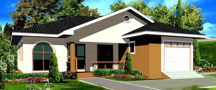 Ghana house plans tutu house plan for Home designs ghana