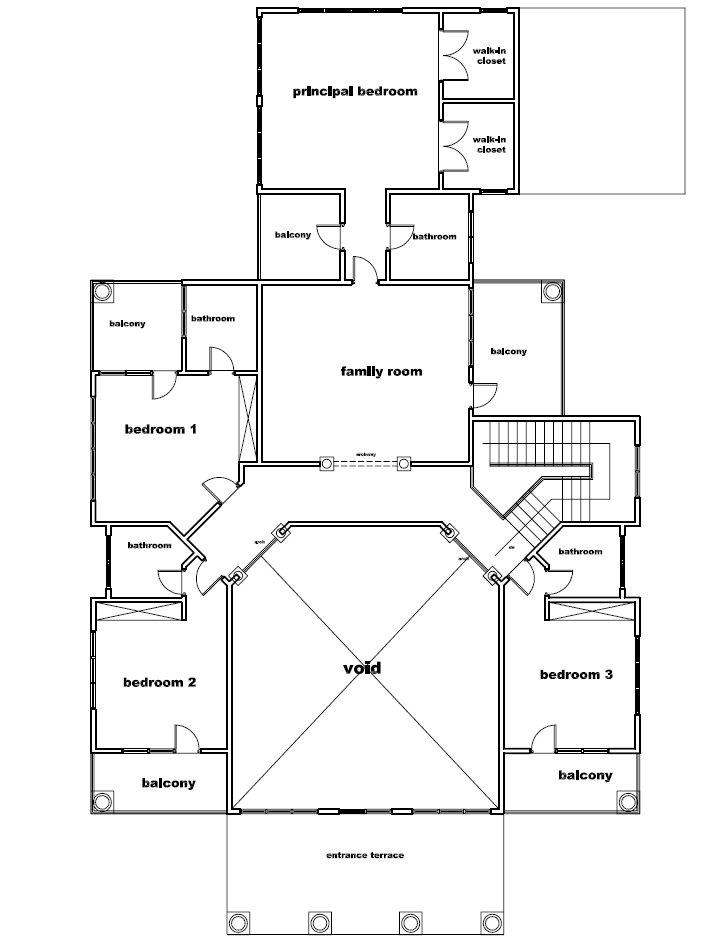 Ghana House Plans Yaa Naa House Plan