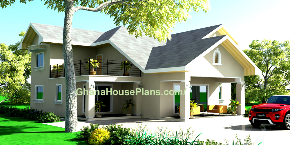 Ghana House Plans Kumasi House 4 Bed 4 5 Bath