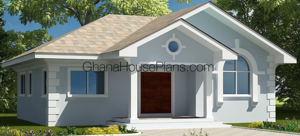 Ghana house plans gracelyn house plan for Ghana house plan