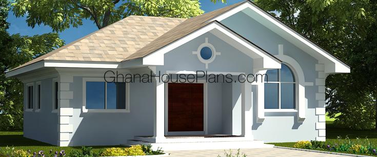 Ghana House Plans Gracelyn House Plan
