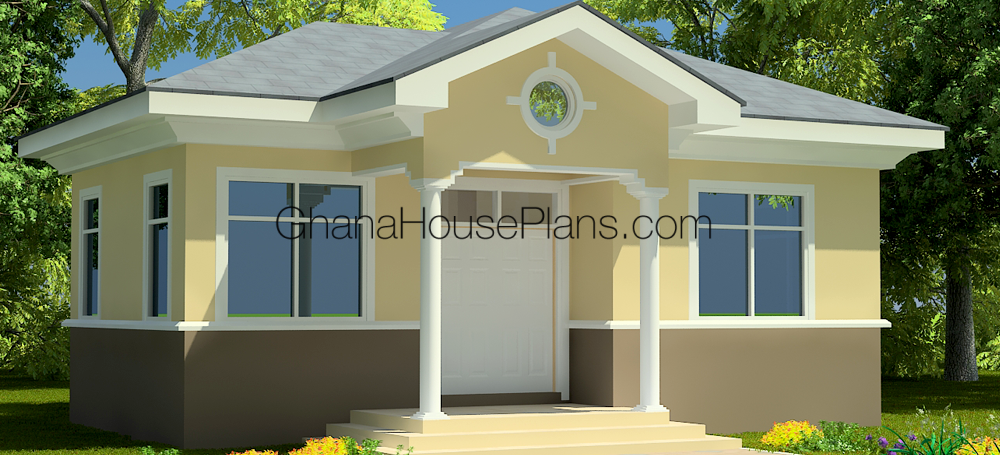Ghana House Plans – Ashford House Plan