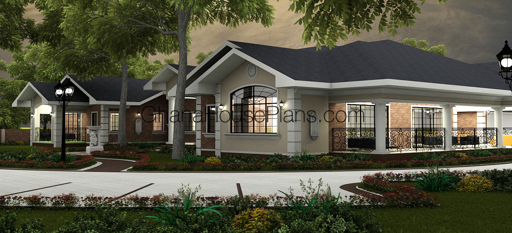 Ghana House Plans Monte Carlo House Plan