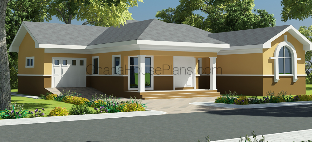 Ghana house plans hastings house plans 3 beds 2 baths for House plans in ghana