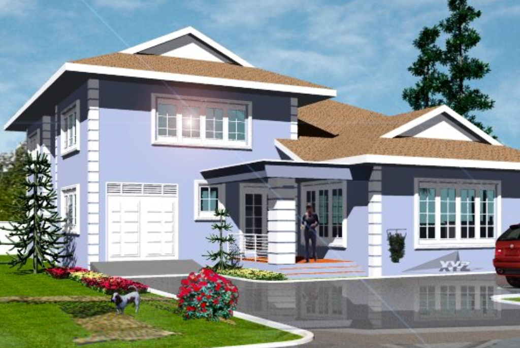 What color should you paint your current or future house for Modern houses in ghana