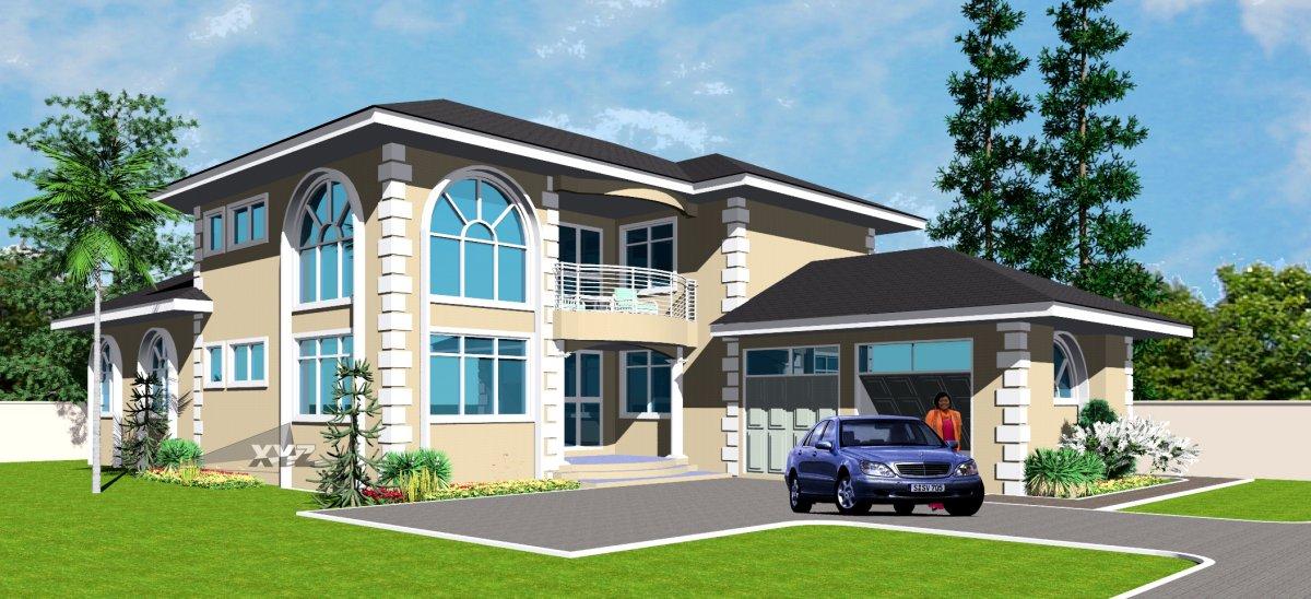 Ghana House Plans | Ghana House Designs | Ghana Architects ...