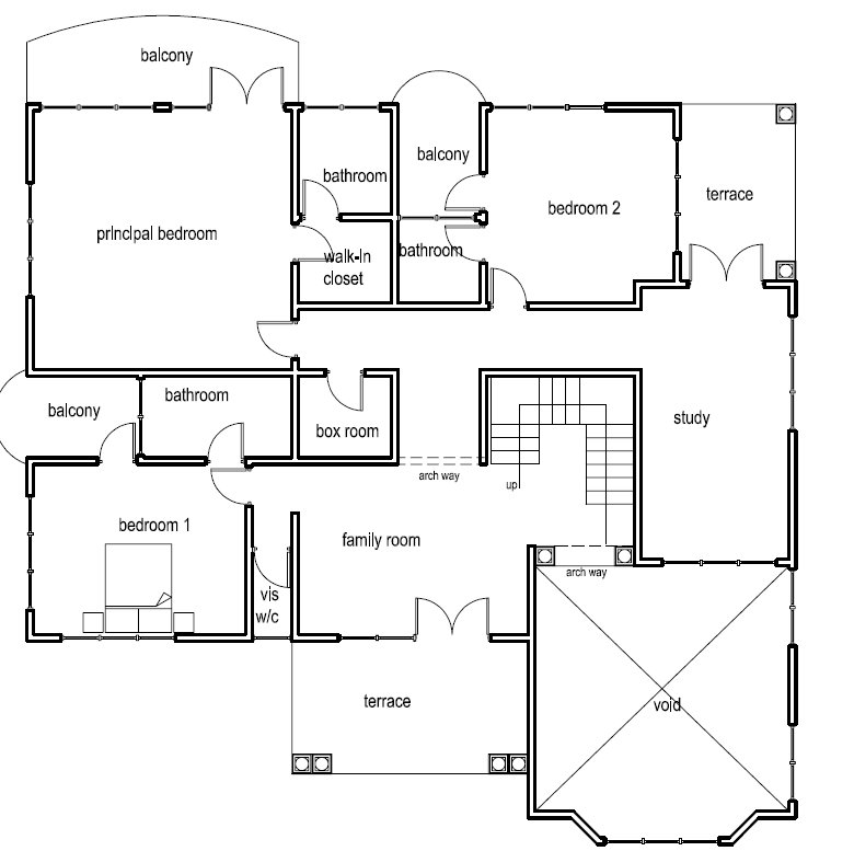 House Plan Drawings In Nigeria - House Plans