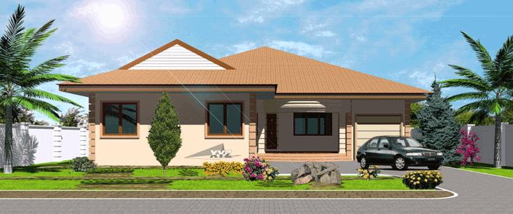 Ghana House Plans | Ghana House Designs | Ghana Architects | Ghana