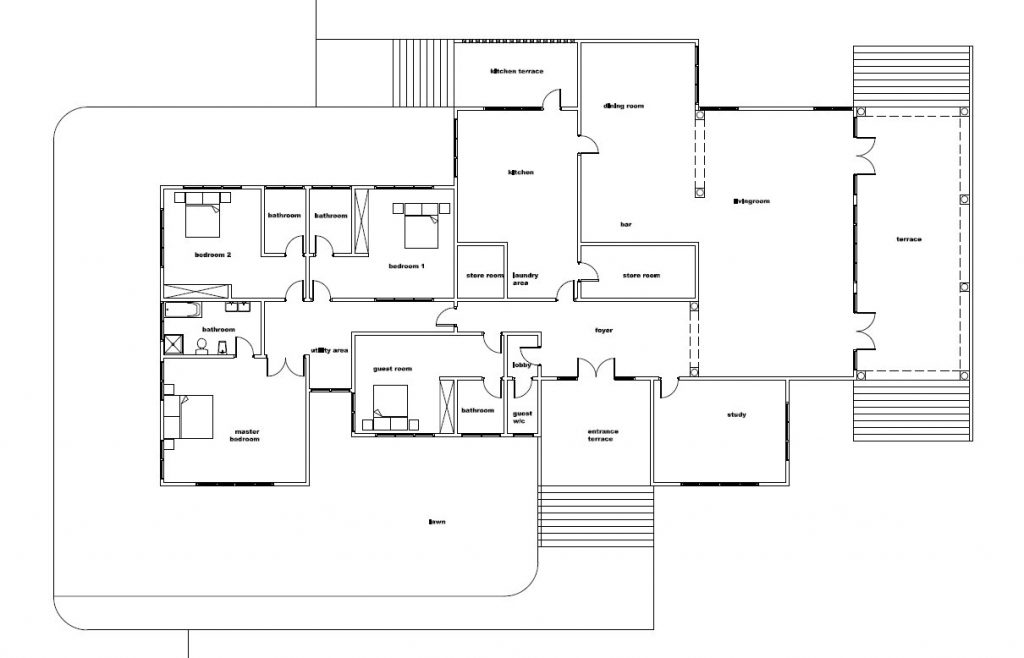 Blueprint homes for ghana liberia nigeria and all african countries blueprint homes this stunning home is a great match for any growing family with a private study just off the foyer a grand living room suitable for all malvernweather Image collections