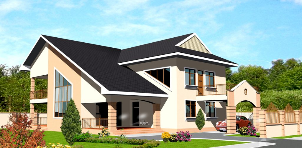 Two story house plans for kenya and all african countries for House plans in ghana
