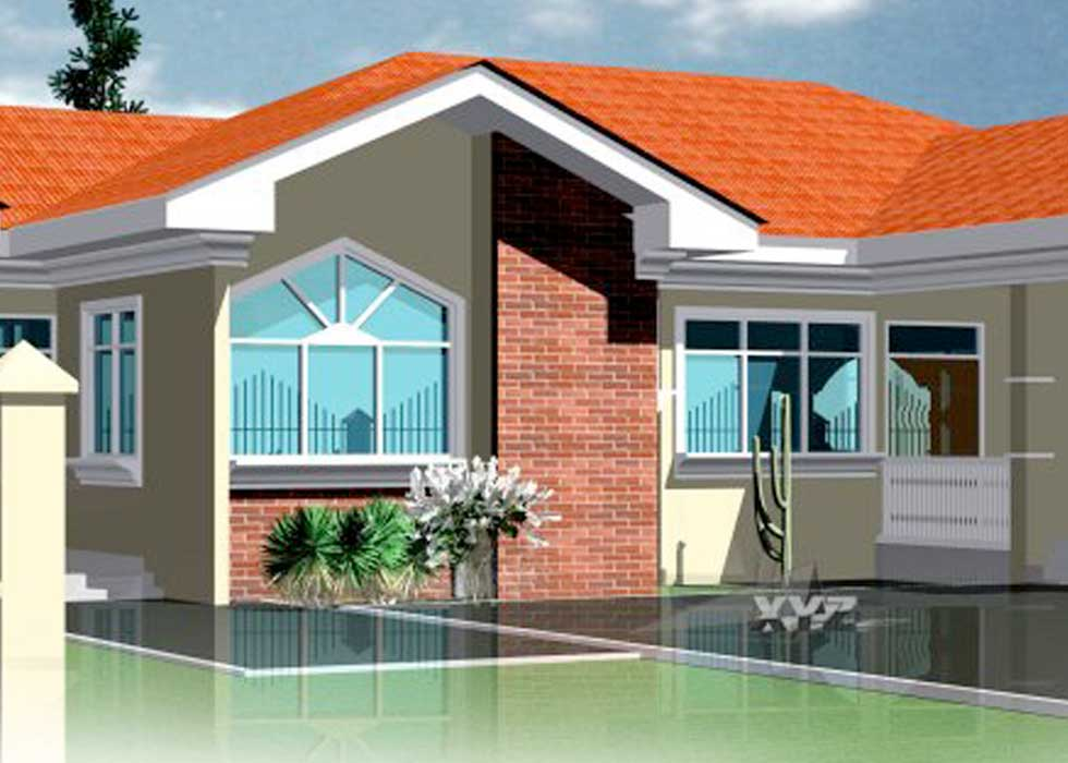 Ghana Floor Plans - 4 Bedrooms and 3 Bathrooms for All ...