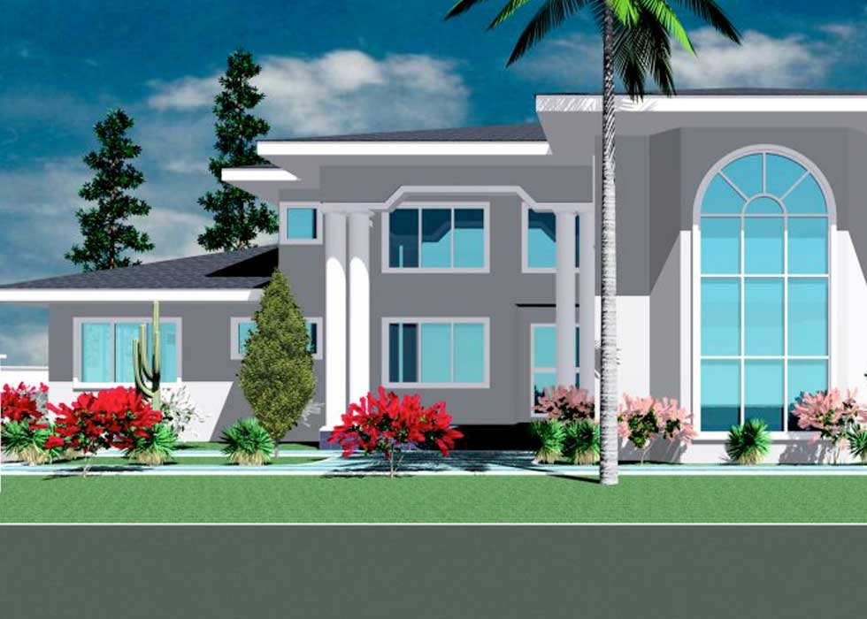 By: Ghana House Plans. Architectural Design