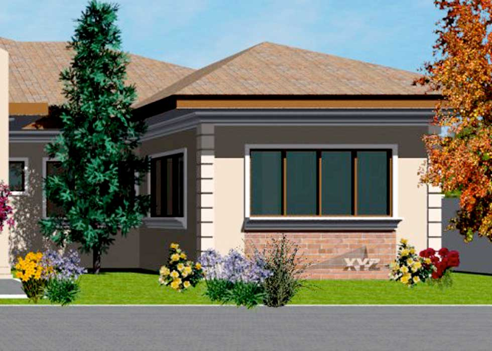 Design Your Own House With This Stunning Home Plan With A Large Great Room,  4 Generously Sized Bedrooms With Attached Baths, One And Half Bath For  Guests, ...