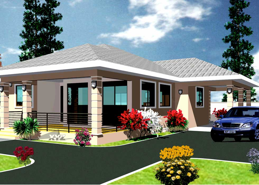 Ghana house plans africa house plans ghana architects for 4 bedroom house to build