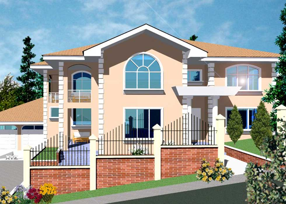 Modern house plans in ghana escortsea for Ghana house plan