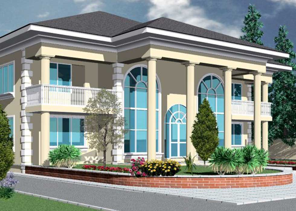Ghana house plans africa house plans ghana architects for Building a one bedroom house