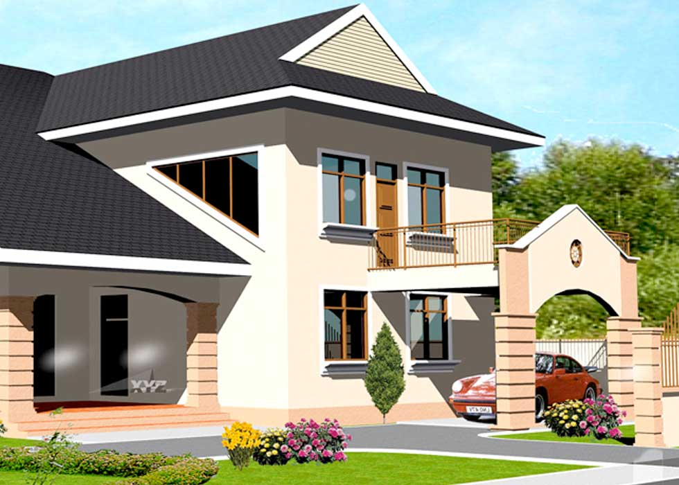 Two Story House Plans for Kenya and All African Countries