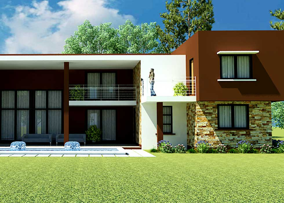 . Nii Kwei   5 Bedrooms Contemporary House Plan   Ghana House Plans