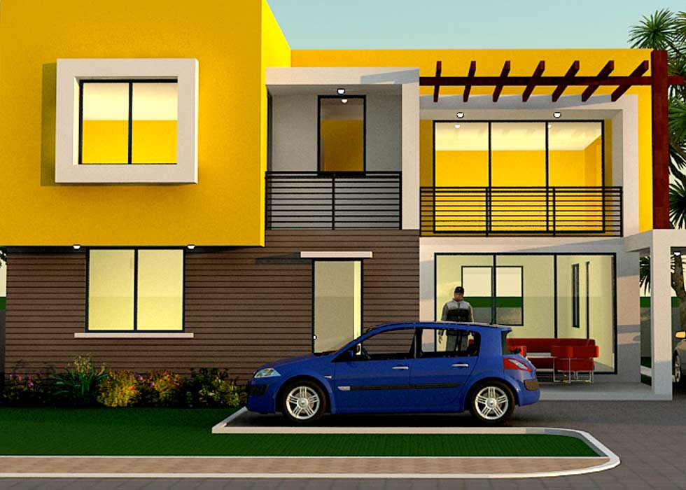 House Plans With Big Bedrooms   Contemporary Floor Plans For Ghana Liberia All African