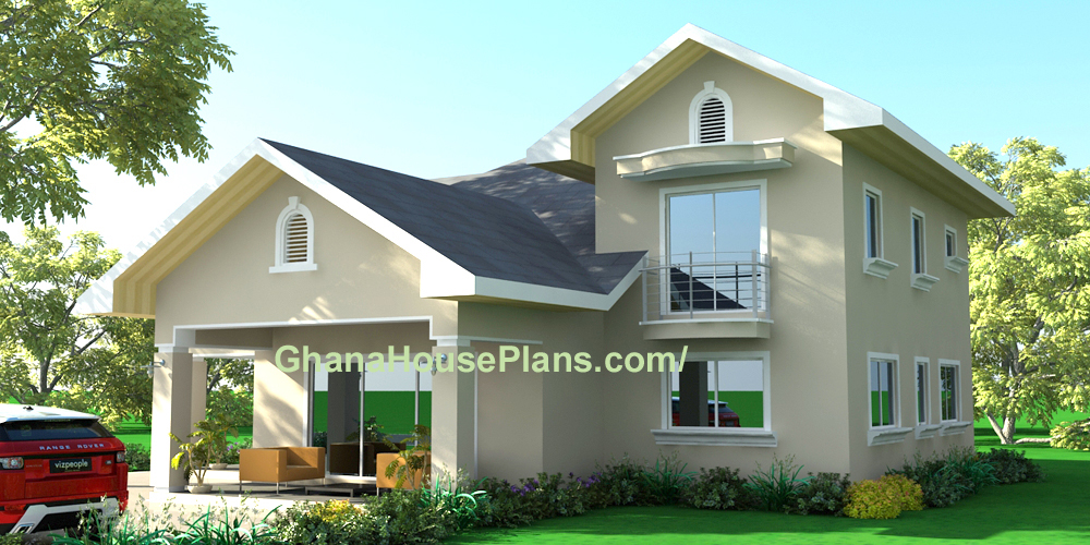 Family home plan designed for liberia and all african towns for 3 family house plans