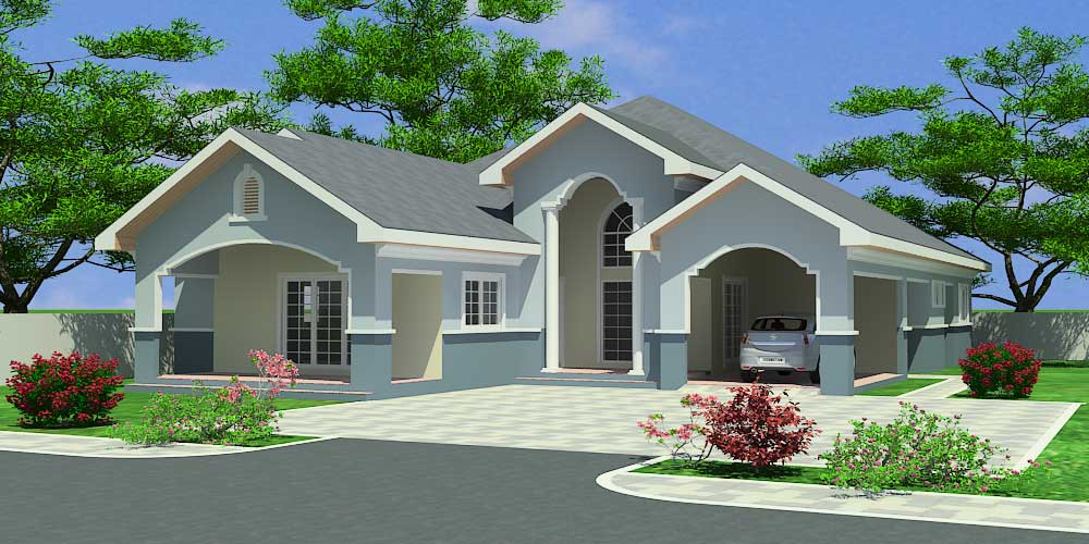 House building plans for ghana chad gabon congo more for Order of building a house